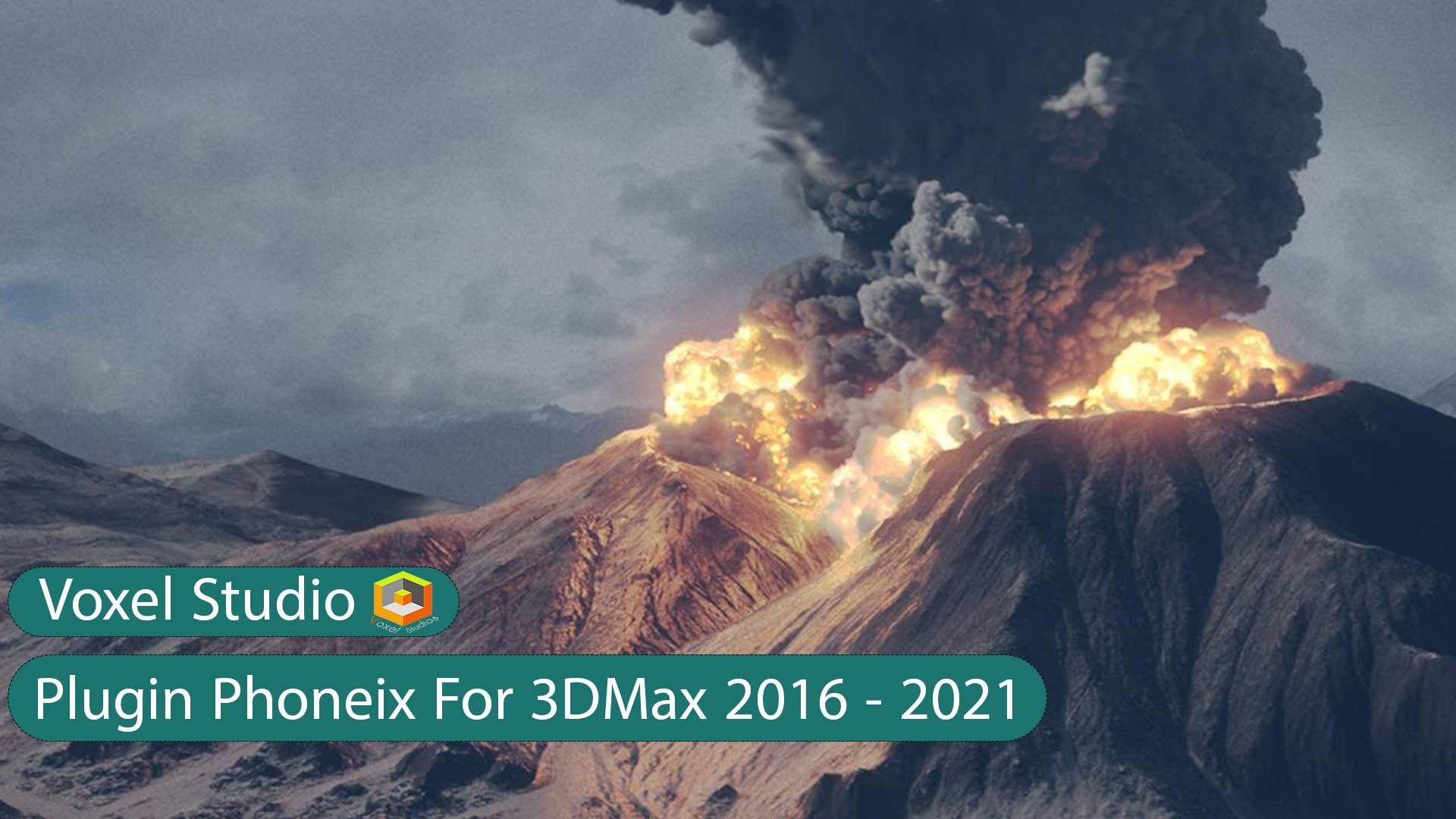دانلود پلاگین Phoenix FD v4 برای 2016 3ds max تا 2021